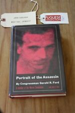 """GERALD FORD HANDSIGNED """"PORTRAIT OF THE ASSASSIN""""  FROM PUGLIESE JFK COLLECTION"""