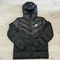 NIKE SPORTSWEAR DOWN FILL WINDRUNNER MENS HOODED JACKET SIZE SMALL 928833-010
