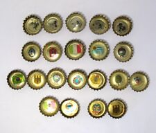 78 FIFA World Cup 21 Coca-Cola Bottle Crown Cap Football Abilities Flags&Emblems