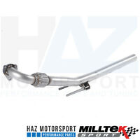 "Skoda Fabia 6Y VRS RS TDI Milltek Stainless Exhaust 2.5"" Downpipe And Decat Pipe"