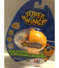GIOCHI PREZIOSI SUPER AILES DONNIE TURBO EGG FLIP & FLY MINI FIGURINE NOUVEAU
