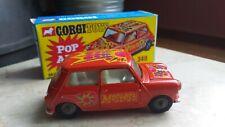Corgi Toys 349 Morris Mini-Minor 'Mostest' 'Pop Art' with box