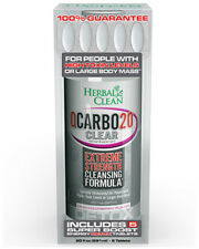 Herbal Clean Q Carbo Clear, BNG Enterprises, 20 oz Cran Raspberry