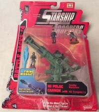 Starship Troopers Action Fleet Battle Packs #4 M1 Pulse Cannon 'Zander Barcalow'