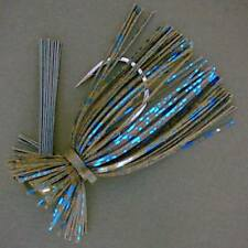 Bassdozer Arkey finesse flipping jig. 3/8 oz BLACK BLUE weedless bass jigs