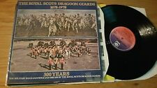 THE ROYAL SCOTS DRAGOON GUARDS - 1678-1978 300 YEARS - GATEFOLD PKLH  - LP