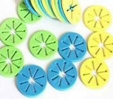 10Pcs Mix Color Socks Stockings Hose Clip Holder Organizer Rack Laundry Supplies