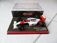 McLaren MP4/5 Honda V10 Alain Prost World Champion #2 Minichamps 1/43 1989 F1