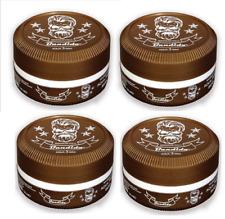 4 X Cera gel para el cabello bandido Aqua Brown - 150ml-máxima Pomada de retención