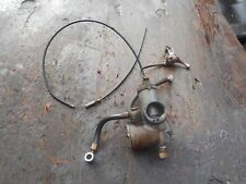1964 BSA GOLDEN FLASH A10 650 AMAL 389/45 CARBURETOR W/ CHOKE LEVER FUEL LINE