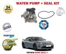 para Toyota GT86 2.0 Coupe FA20 2012- > Bomba de Agua NUEVA + Kit de juntas