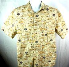 Batik Bay Tropical men's  Button Shirt Large