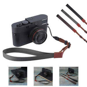 Camera Strap Nylon Camera Hand Wrist Strap Adjustable Lanyard for DSLR Camera