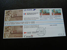 FRANCE/CANADA - document 1984 jacques cartier (cy33) (E)