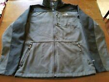 The North Face Apex Bionic Jacket Boy's Size XL 18-20 Black Grey Softshell