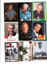 Ned Jarrett Lot of 9 Different NASCAR Trading Cards A