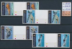 LO17247 Gibraltar 2012 aviation airplanes gutter pairs MNH cv 23,2 EUR