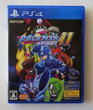 ROCKMAN XI Mega Man 11 [ Capcom ] PS4 Sony Playstation 4