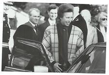 Royalty - Princess Anne at King Edward School, Bath in 1988 Willmott Postcard