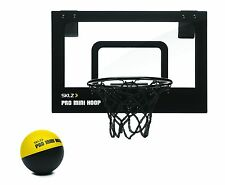 SKLZ Pro Mini Basketball Hoop With Ball for Kids & Adults Over the Door Games