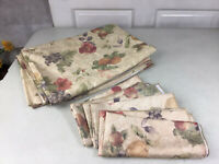 FALL Harvest Tablecloth Matching Napkins Set 4