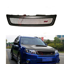 STI Style Front Bumper Grille Radiator Grill For Subaru 2009 10 11 12 Forester