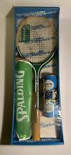 New Sealed Vintage Pancho Gonzales Impact 310 Pro Champ Spalding Tennis Set