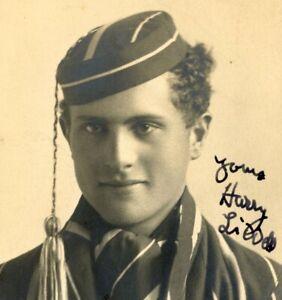 Harrow School pupil Harry Liddell antique CDV Carte de Visite photograph #1