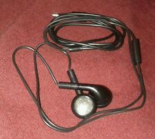 Black Hands Free Cellphone Headphone Mic Stereo Earbud #Iphone #Ipod #Android