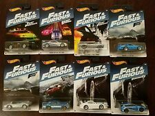 Hot Wheels 2017 Fast & Furious Walmart Exclusive Complete Set Wave 2 (Lot of 8)