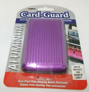 CARD-GUARD Secure RFID Blocking Of Your Credit Cards/Personal Information PURP