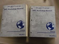 2001 Ford Focus Workshop Service Manual Volume 1 & 2 Factory Book