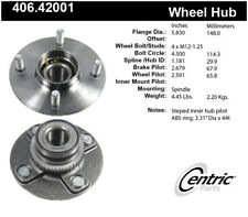 Wheel Bearing and Hub Assembly-Premium Hubs Rear Centric fits 99-02 Infiniti G20