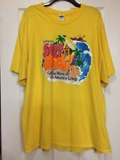 Cokesbury's Surf Shack VBS Yellow T-Shirt Size 2XL