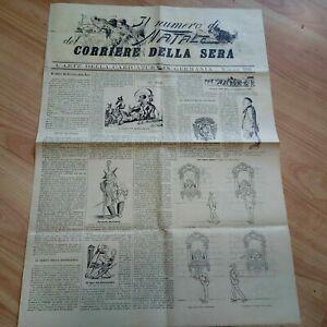 Giornale Corriere della Sera Il Numero di Natale Raro 1886 LOTTO3