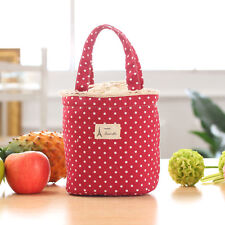 Thermal Insulated Lunch Box Casual Cooler Bag Tote Bento Pouch Lunch Container
