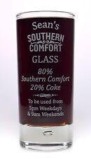 Personalised SOUTHERN COMFORT % Highball Glass Gift For Mum/Dad/Nan/Birthday