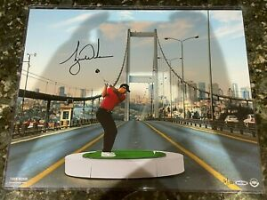 "Tiger Woods Signed Auto Autographed 16x20 Photo ""The Bridge"" #16/100 UDA COA PGA"