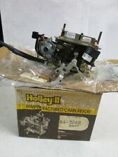 Holley Reman 64-3248 Carburetor 2 Bbl. Chevrolet Chevette w/1.6L  4 Cyl. 1980-