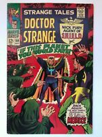 Strange Tales #160 - Dr. Strange & Nick Fury Jim Steranko Cover