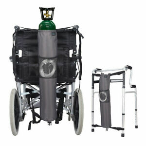 Oxygen Bag Backpack Holder Wheelchair Walker Portable Oxygen Tank Carrier