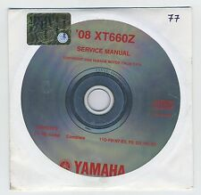 (CD77) CD MANUEL ATELIER MOTO YAMAHA XT660Z   2008