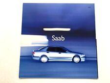 2001 SAAB 9-3 93 Viggen and 9-5 95 Aero Original Car Sales Brochure