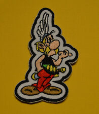 patch astérix, brodé et thermocollant 10/6.5cm