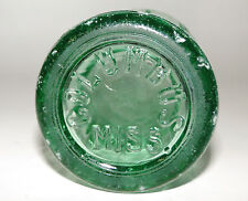 Old COLUMBUS MS Hobbleskirt Coke Coca Cola Soda Bottle D 105529 1938-1951