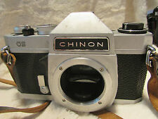 CHINON CS  single lens reflex 35mm film M42 camera ref 1