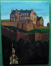 Castle View - Edinburgh : Original Scottish Painting by John Cowan