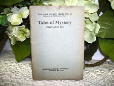 TALES OF MYSTERY BY EDGAR ALLAN POE TEN CENT POCKET SERIES BOOK NO 12