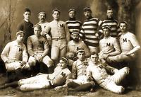 "1888 University of Michigan Football Team Vintage Old Photo 8.5"" x 11"" Reprint"