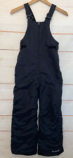 Kids Youth COLUMBIA SnowSuit Snow Ski Snowboard Suit Bib Outgrown Black Medium M